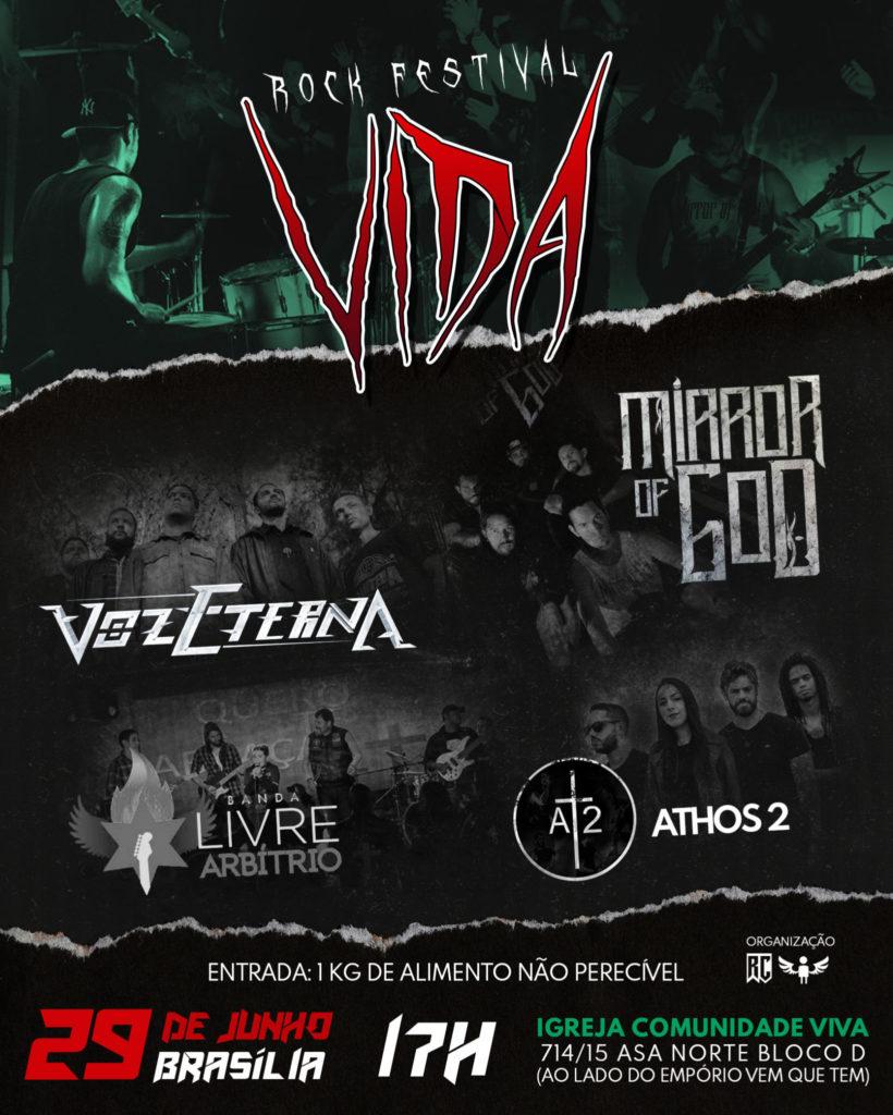 flyer rock festival VIDA